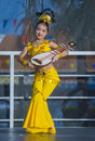 Las vegas chinese new year feb folk dancer perform at the celebrations held in nevada on february Stock Photography