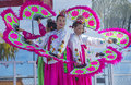 Las vegas chinese new year feb folk dancers perform at the celebrations held in nevada on february Stock Photos