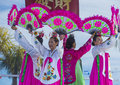 Las vegas chinese new year feb folk dancers perform at the celebrations held in nevada on february Stock Images