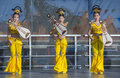 Las vegas chinese new year feb folk dancers perform at the celebrations held in nevada on february Stock Photography