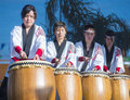 Las vegas chinese new year feb japanese taiko drummers perform at the celebrations held in nevada on february Royalty Free Stock Images