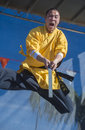 Las vegas chinese new year feb martial art performer at the celebrations held in nevada on february Stock Images