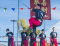 Las vegas chinese new year feb martial art performers at the celebrations held in nevada on february Royalty Free Stock Photography