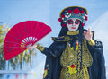 Las vegas chinese new year feb master of masks perform at the celebrations held in nevada on february Stock Image