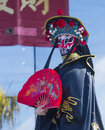 Las vegas chinese new year feb master of masks perform at the celebrations held in nevada on february Stock Images