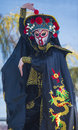 Las vegas chinese new year feb master of masks perform at the celebrations held in nevada on february Stock Photo