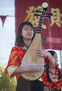 Las vegas chinese new year feb musician perform during the celebrations held in nevada on february Royalty Free Stock Images