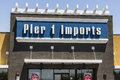 Las Vegas - Circa July 2017: Pier 1 Imports Retail Strip Mall Location. Pier 1 Imports Home Furnishings and Decor IV Royalty Free Stock Photo