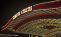 Las vegas circus circus sep the hotel and casino sign on september in features acts and carnival Stock Photo