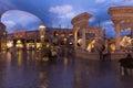 Caesars Palace mall in Las Vegas, NV on February 22, 2013 Royalty Free Stock Photo