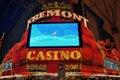 Las Vegas Fremont Casino Royalty Free Stock Image