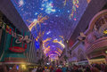 Las vegas fremont street experience sep the on september in nevada the is a pedestrian mall Stock Photos