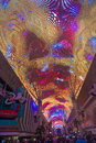 Las vegas fremont street experience sep the on september in nevada the is a pedestrian mall Stock Images