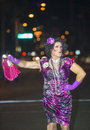 Las vegas gay pride sep an unidentified drag queen perform before the annual parade in on september Stock Images