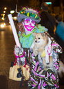 Las vegas halloween parade oct an unidentified participant at the annual held in nevada on october Stock Image