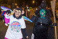 Las vegas halloween parade oct an unidentified participants at the annual held in nevada on october Stock Image