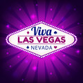 Las Vegas illustration Royalty Free Stock Photo