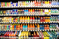 Las vegas march grocery stores stock up refreshing cold as summer weather returns to desert las vegas march Stock Photography