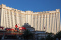 Las vegas nevada usa august monte carlo hotel in las vega on Royalty Free Stock Image