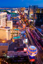 Las Vegas at night Royalty Free Stock Image