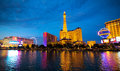 Las Vegas Night View Royalty Free Stock Photo