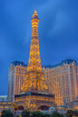 Las vegas paris hotel june the and casino on june in nevada usa it includes a half scale foot m tall replica Stock Photo