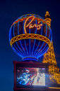 Las vegas paris hotel june the and casino on june in nevada usa it includes a half scale foot m tall replica Royalty Free Stock Image