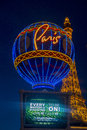 Las vegas paris hotel june the and casino on june in nevada usa it includes a half scale foot m tall replica Stock Images