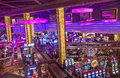 Las vegas planet hollywood june the interior of hotel and casino on june in has over rooms and it Royalty Free Stock Images
