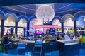 Las vegas planet hollywood june the interior of hotel and casino on june in has over rooms and it Stock Image