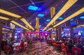 Las vegas planet hollywood june the interior of hotel and casino on june in has over rooms and it Stock Photos