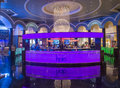 Las vegas planet hollywood june the interior of hotel and casino on june in has over rooms and it Royalty Free Stock Photo