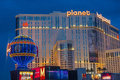 Las vegas planet hollywood june resort and casino on june in has over rooms available and it located on Stock Images
