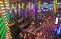 Las vegas planet hollywood oct the interior of hotel and casino on october in has over rooms and it Stock Images