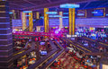 Las vegas planet hollywood oct the interior of hotel and casino on october in has over rooms and it Royalty Free Stock Images