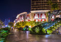 Las vegas sep the encore hotel and casino on september in the hotel has rooms and opened in Stock Photography