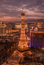 Las Vegas skyline Royalty Free Stock Images