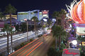 Las Vegas Strip at Flamingo Stock Images