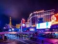 Las Vegas Strip at Night - Nevada, USA