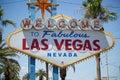 Las Vegas strip sign Royalty Free Stock Photo