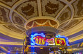 Las vegas venetian hotel april the interior of the casino in on april with more than suites it s one of the most famous Stock Photography