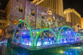 Las vegas venetian hotel ice rink dec near the resort in on december with more than suites it s one of the most famous Royalty Free Stock Photography