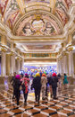 Las vegas venetian hotel nov the interior of the casino in on november with more than suites it s one of the most famous Stock Image