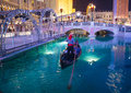 Las vegas venetian hotel nov the and replica of a grand canal in on november with more than suites it s one of the most Stock Photos