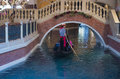 Las vegas venetian hotel nov the and replica of a grand canal in on november with more than suites it s one of the most Stock Image