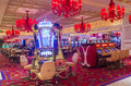 Las vegas wynn hotel nov the the interior of and casino on november in the has rooms and opened in Stock Photos