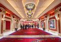Las vegas wynn hotel nov the the interior of and casino on november in the has rooms and opened in Stock Photo
