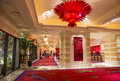Las vegas wynn hotel nov the the interior of and casino on november in the has rooms and opened in Stock Images