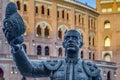 Las Ventas Bullring in Madrid, Spain. Royalty Free Stock Photo