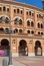 Las Ventas Bullring Plaza de Toros de Las Ventas in City of Madrid, Spain Royalty Free Stock Photo